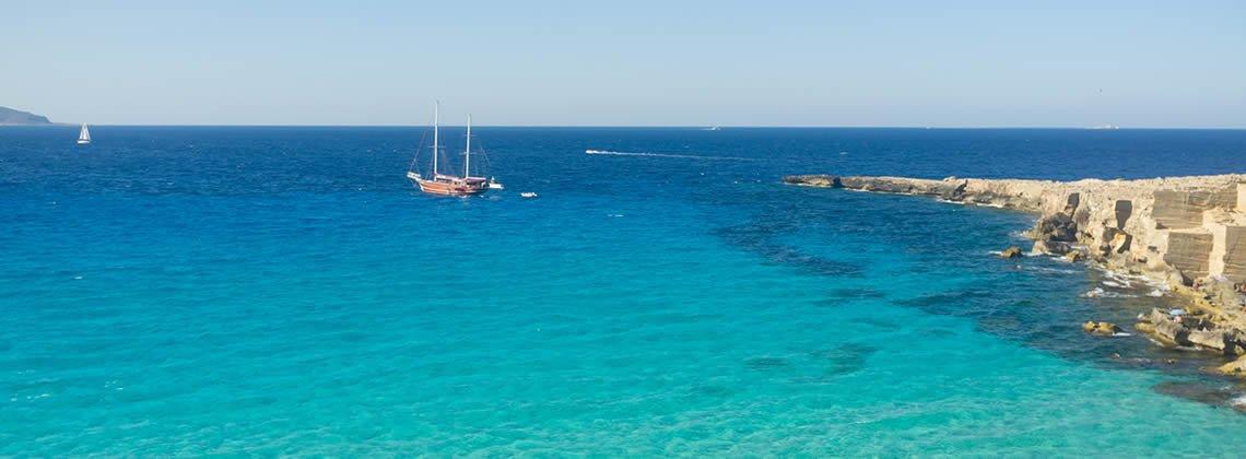 Vacanze mare Favignana Sicilia - Soggiorno mare Isola di Favignana ...